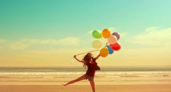 happiness balloons