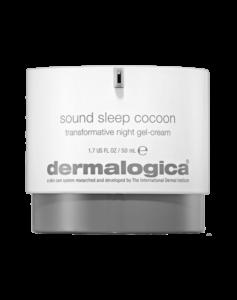 dermalogica sound sleep cocoon transformative night gel cream review