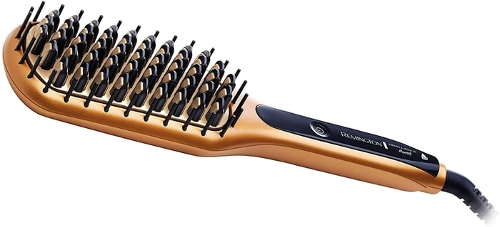 review remington keratin straightening brush