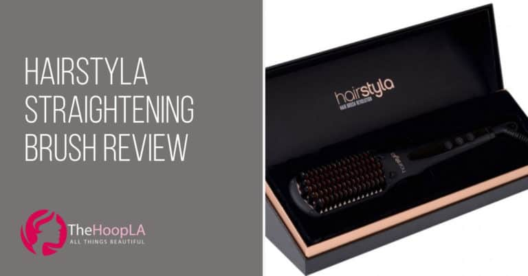 hairstyla straightening brush review