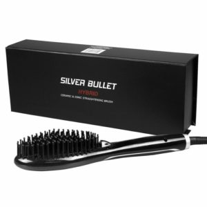 silver bullet ionic straightening brush