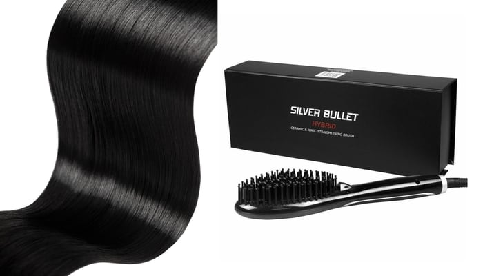 Silver Bullet Ionic Ceramic Straightening Brush Review 1