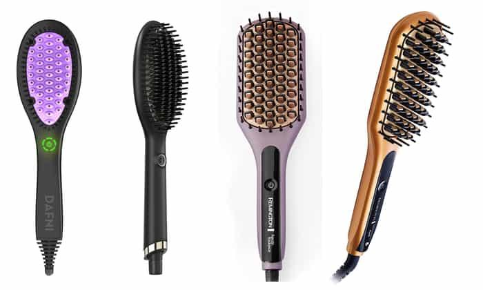 type of straightening brushes
