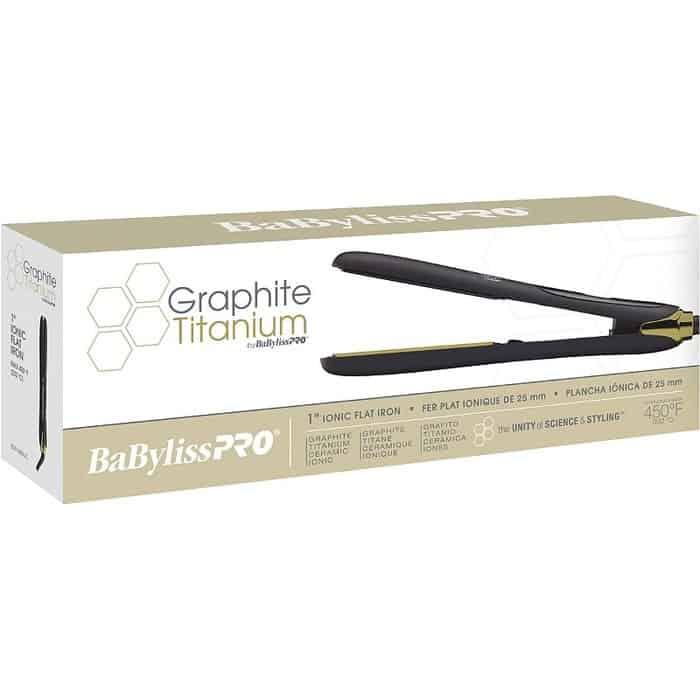 babyliss pro raphite titanium straightener