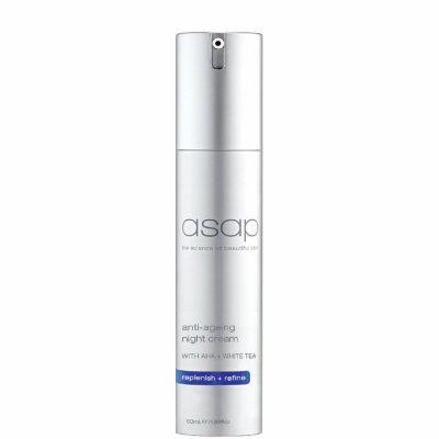 asap anti ageing night cream 50ml review
